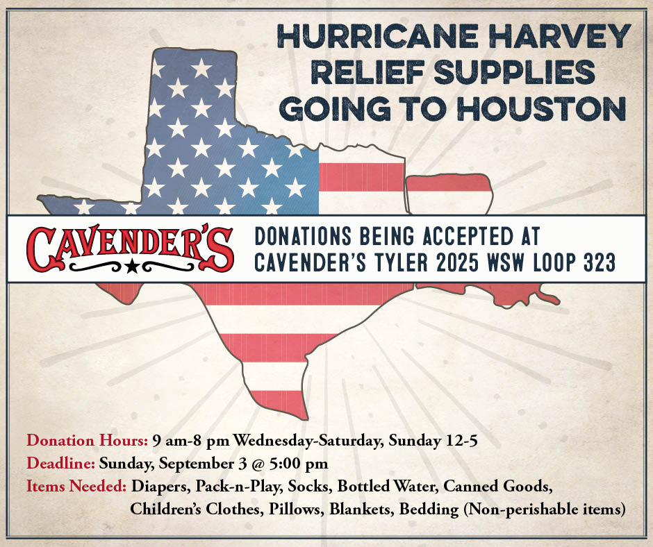 Donations from Cavender's