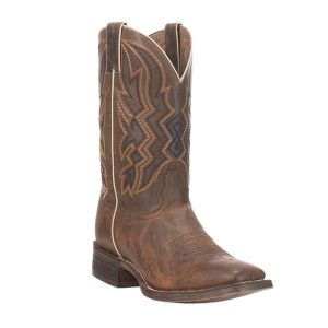 Nocona Men's Brown HERO Collection Double Welt Square Toe Western Boots (NB3004)